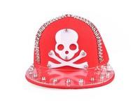 Женская бейсболка Clearance! Factory Korean punk hip hoop Fashion skull rivet lovers acrylic letters snapback hats