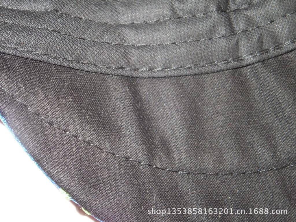 民族风帽子 杨丽萍最爱帽子 腾龙绣花鸭舌帽 民族绣花帽子 两色 -价