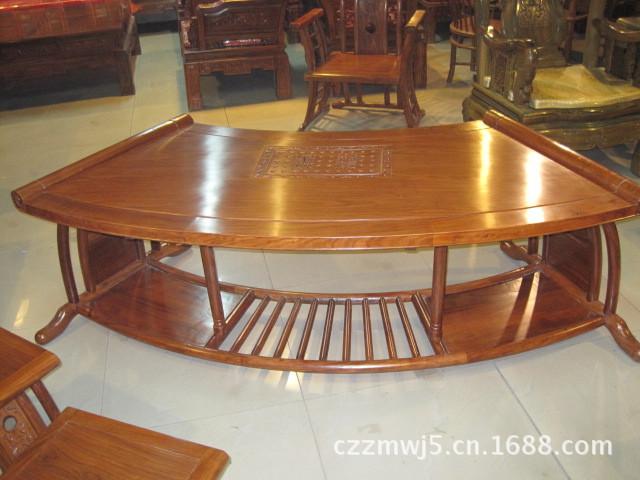 实木餐桌椅茶几 多功能仿古茶桌 中式古典茶台 根雕茶几