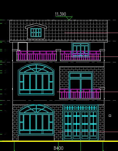 农村小别墅设计图纸 整套建筑图6 -价格,厂家,图片,其他创意设计