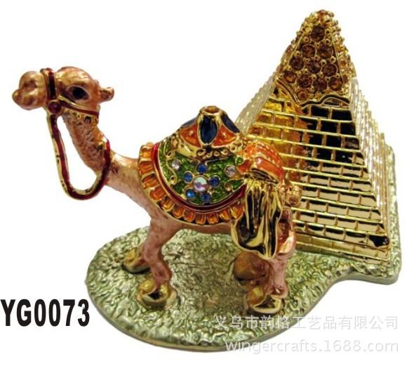 骆驼金属工艺品_韵格母子骆驼金属礼品工艺品创意商务礼品首