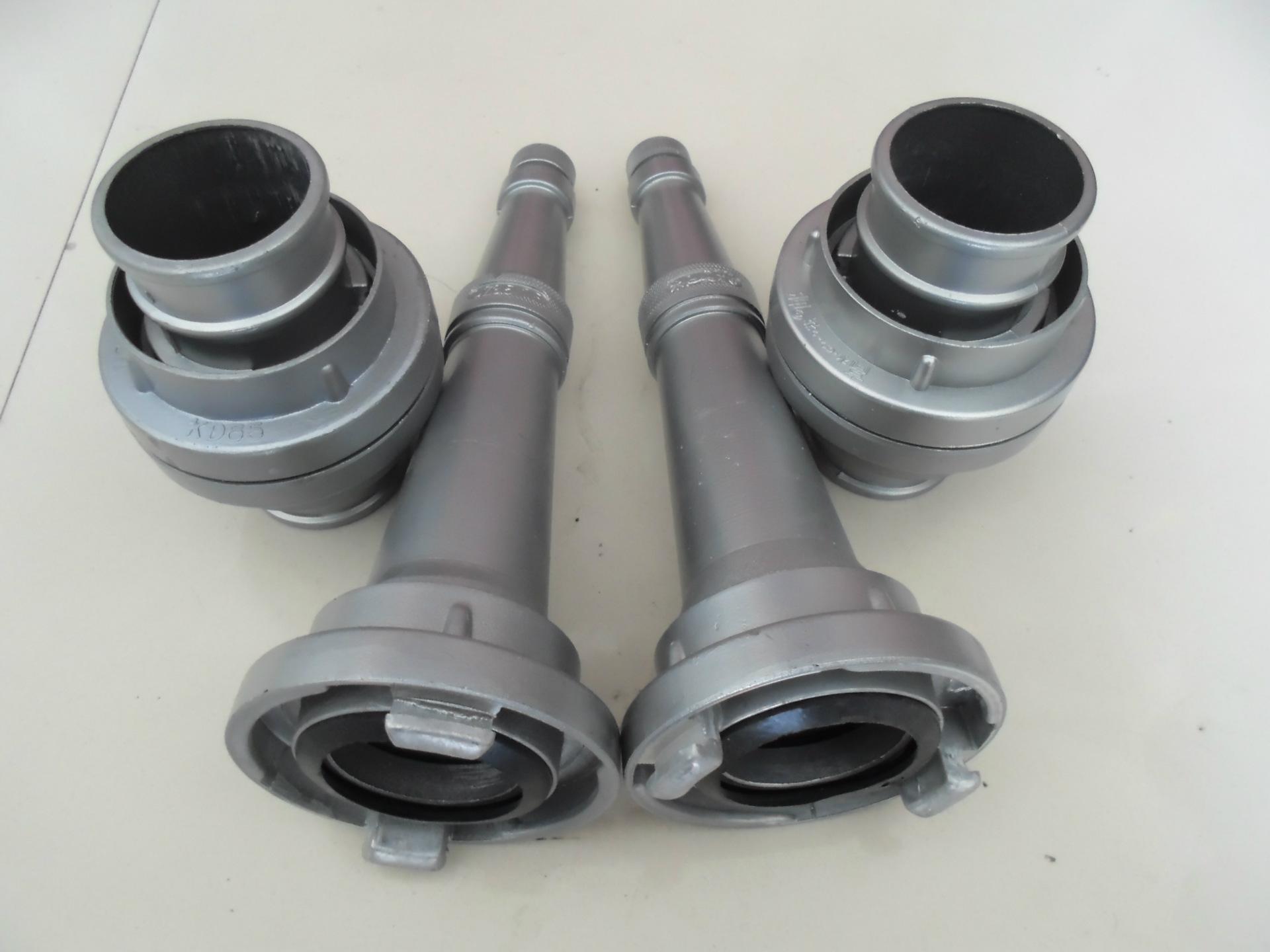 厂家直销 消防器材kD65压铸水带接口 消防水枪