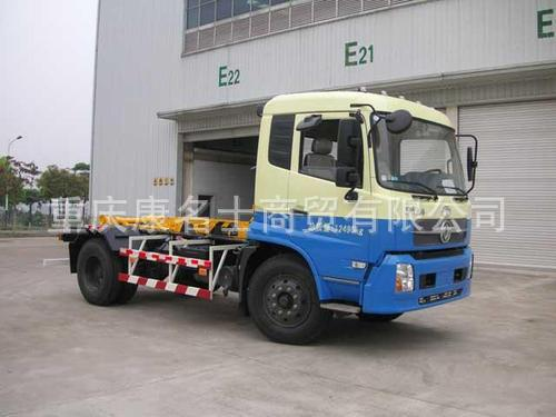 广和GR5120ZXX车厢可卸式垃圾车ISDe185东风康明斯发动机