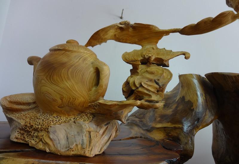福建根雕崖柏木根雕茶壶工艺品摆设 -价格,厂家,图片,木质 竹质