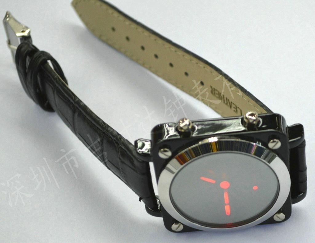 真皮带模拟指针LED17