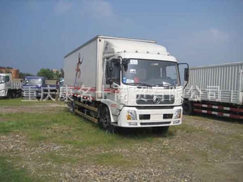 东风DFC5100XXYB厢式运输车ISDe160东风康明斯发动机