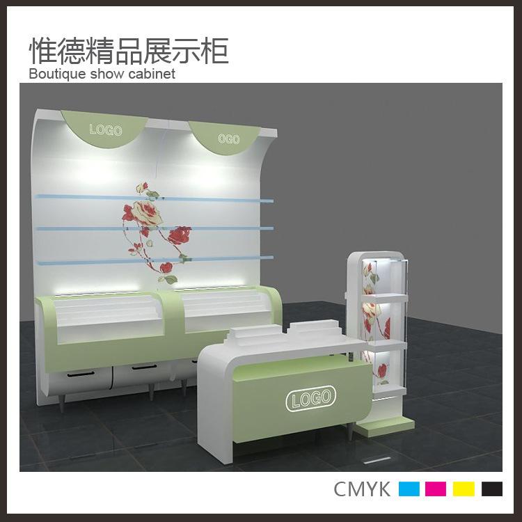 化妆品展示柜 高档化妆品展示柜 化妆品道具 厂家展柜直销 阿里巴巴图片