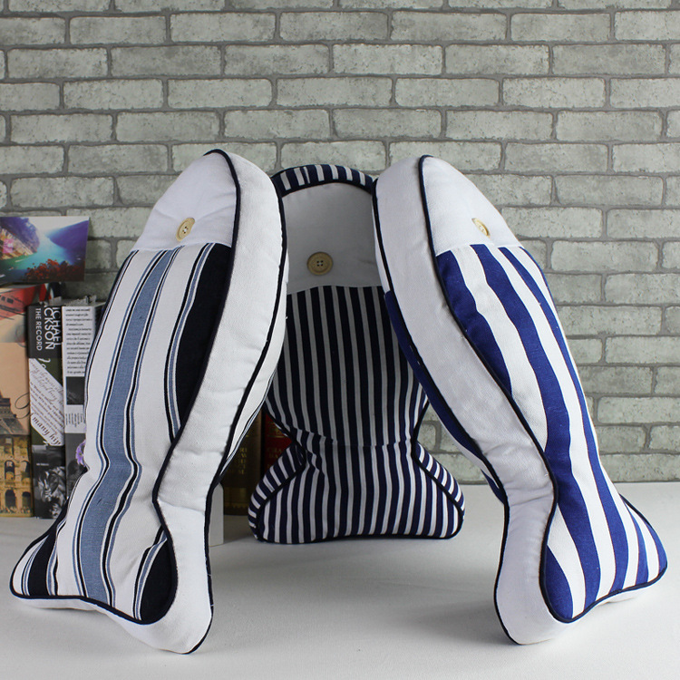 Creative fish shaped throw pillow cases home car for Fish shaped pillow