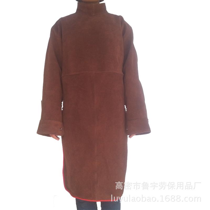 牛皮隔热防烫防辐射皮工作服电焊服