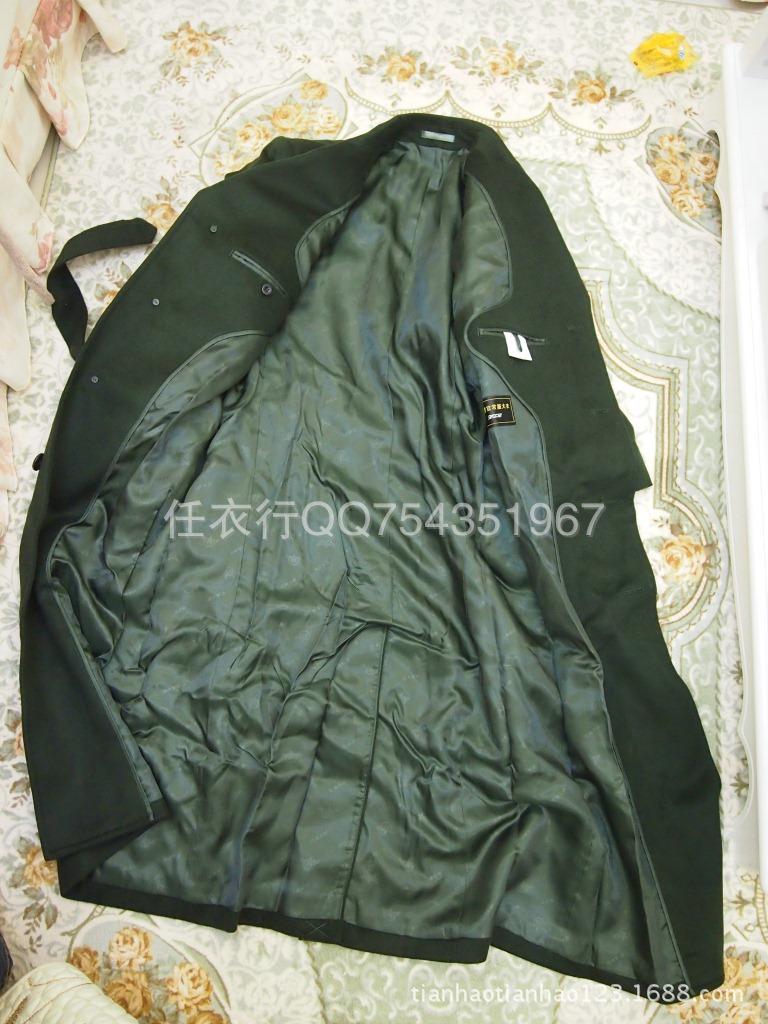 武 07新式男女军官常服羊绒大衣 干部呢子大衣 军大衣 正品批发 -价图片