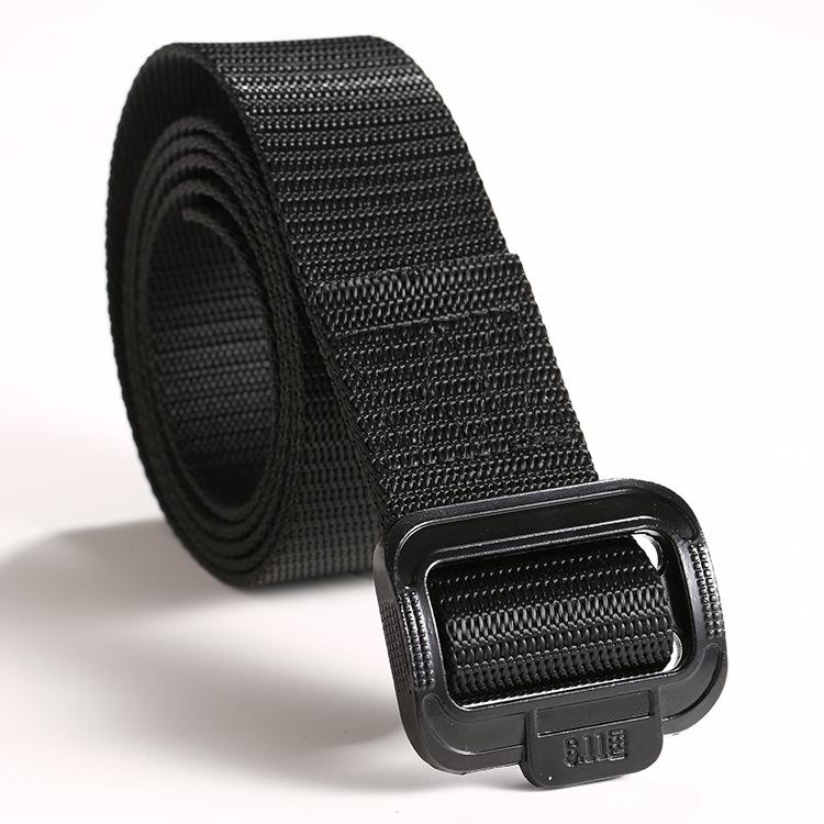 Thắt lưng vải bố khóa quân dụng khóa vuông bằng nhựa