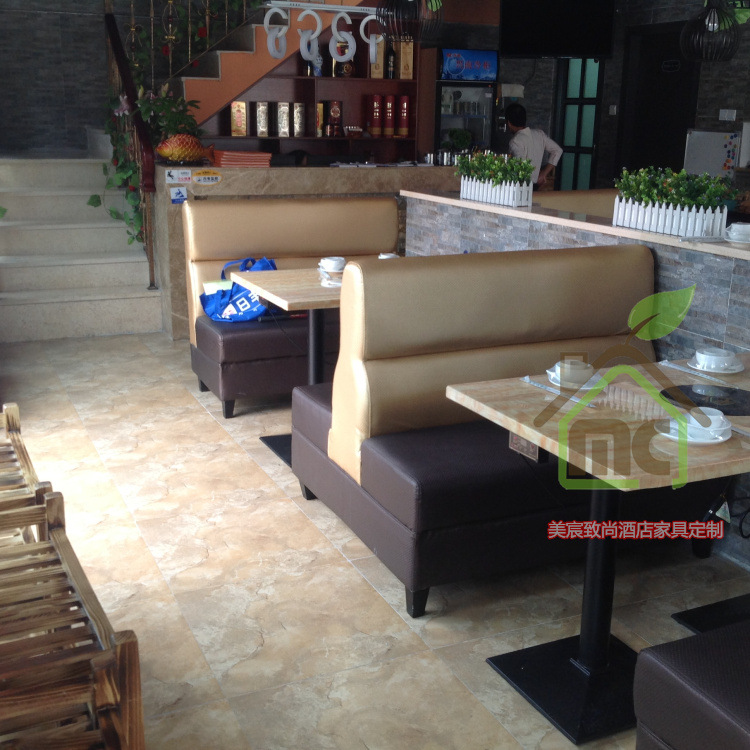 餐桌 广西白贴纸大理石火锅桌电磁炉火锅桌专业定制厂家 餐桌尽在阿
