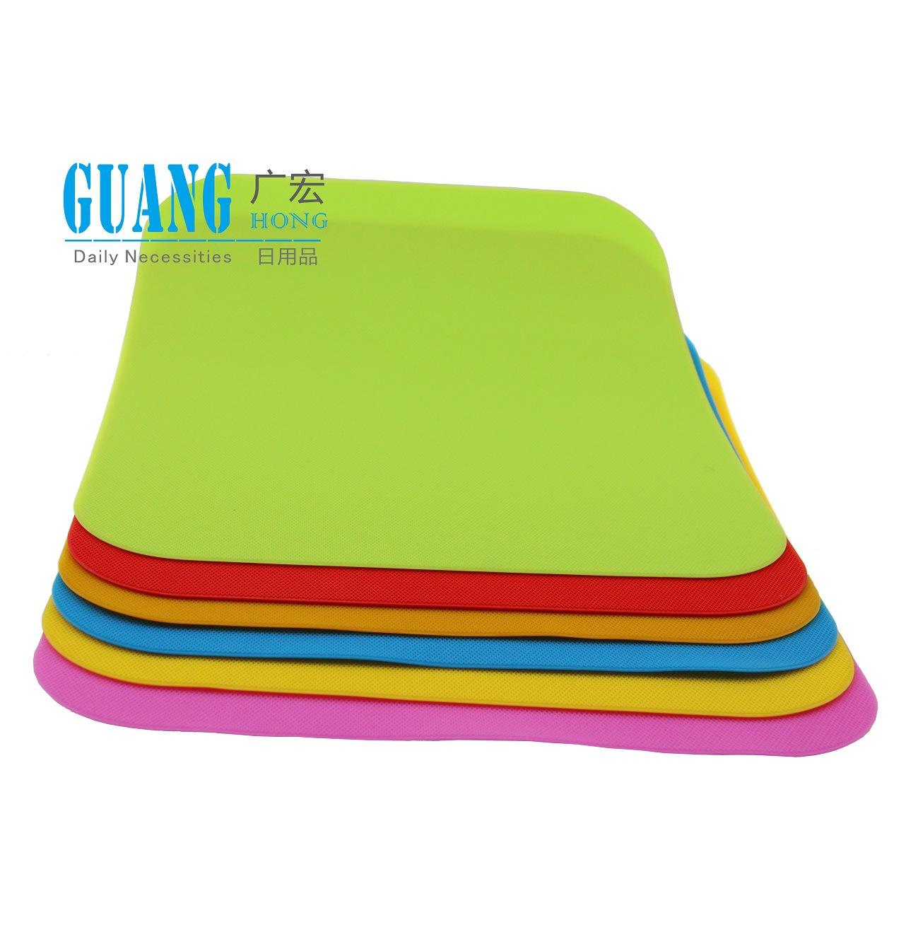 网纹垫 糖果色防水餐垫 高级西餐垫 硅胶防滑隔热垫