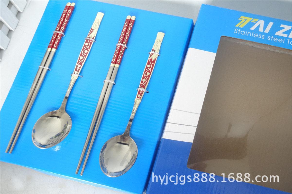 不锈钢西餐具套装、卡通餐具、勺筷餐具套装、礼品餐具套装
