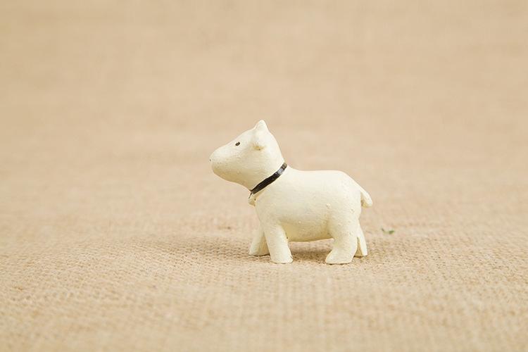 【zakka杂货守仰望天空小动物迷你桌面树脂摆件创意