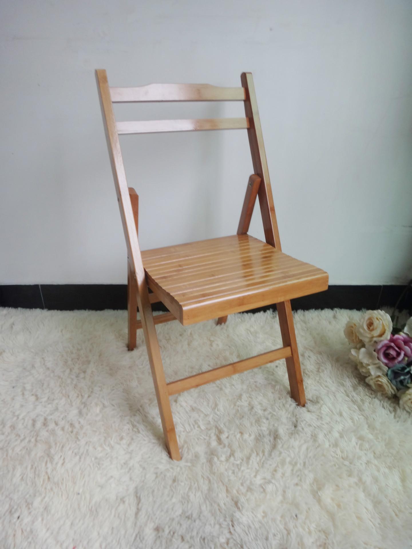 折叠椅-蜘蛛小大号仿生靠背椅楠竹家具折叠椅竹制家具成人图片