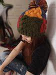 Mũ len trùm đầu nữ, phối nhiều màu cá tính, thời trang ấm áp