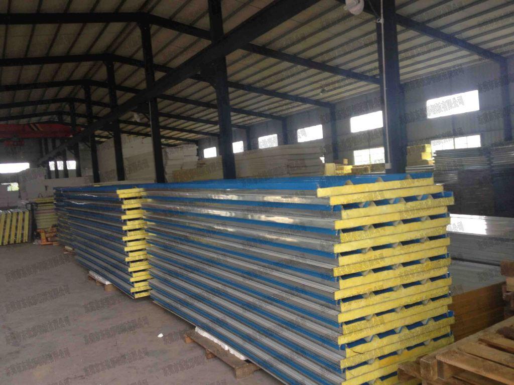大量供应玻璃棉夹芯板 厂家直销 东莞及其周边地区