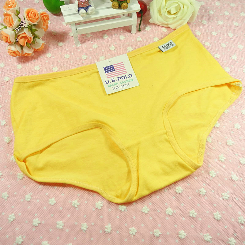 5pcs Candy -colored ladies 100% cotton underwear (tell me which ones)