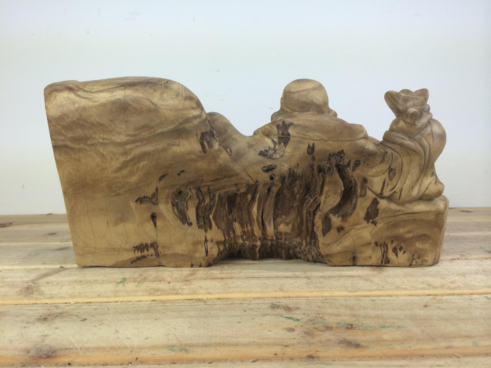 【弥勒根雕雕刻家具樟木红木家具佛像所摆鹿邑黄金铝合金图片