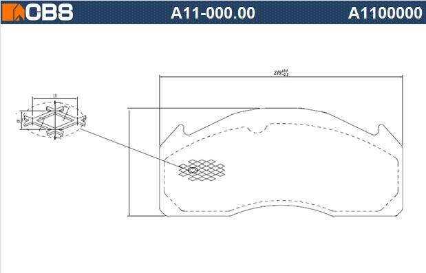 供应WVA29017,商用车刹车片钢背,,大巴钢背,,精冲钢背