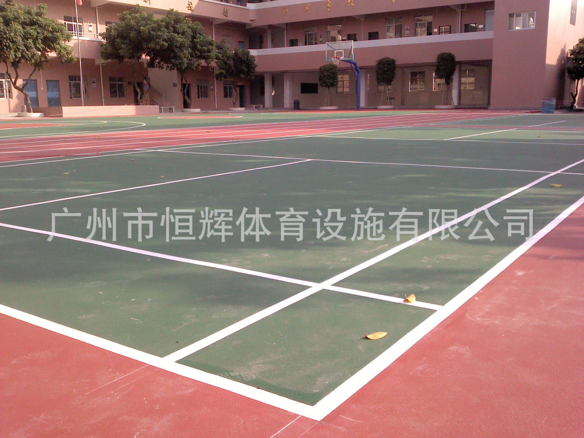 家专业生产运动塑胶球场 优质跑道塑胶球场 安全环保塑胶球场