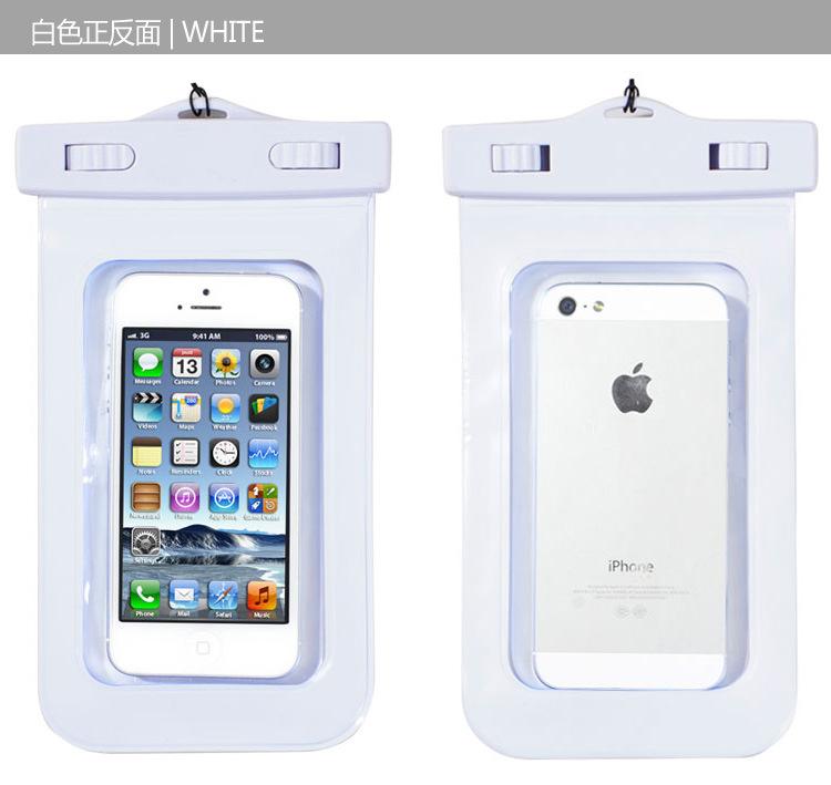 【手机厂家款苹果水袋防手臂可触屏PVC紧急手机号图片