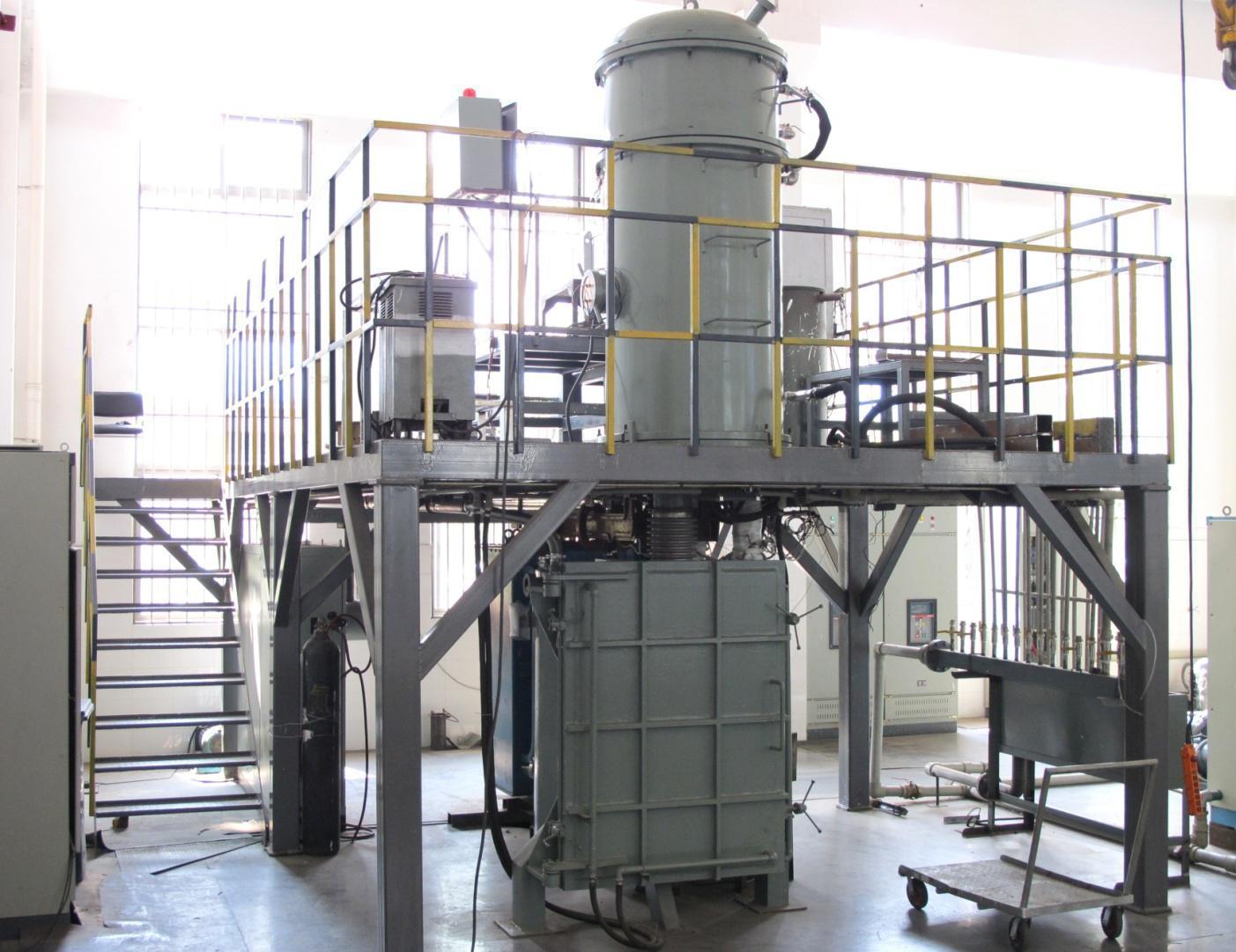 贵铅连续式真空炉回收银