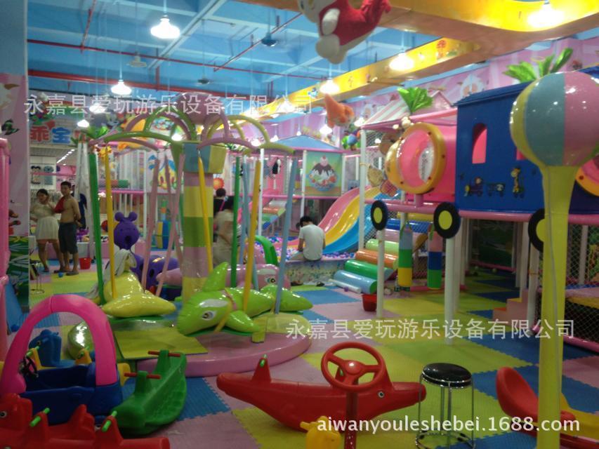 设备 商场超市游乐园 开一个室内儿童乐园大概需要多少钱 阿里巴巴