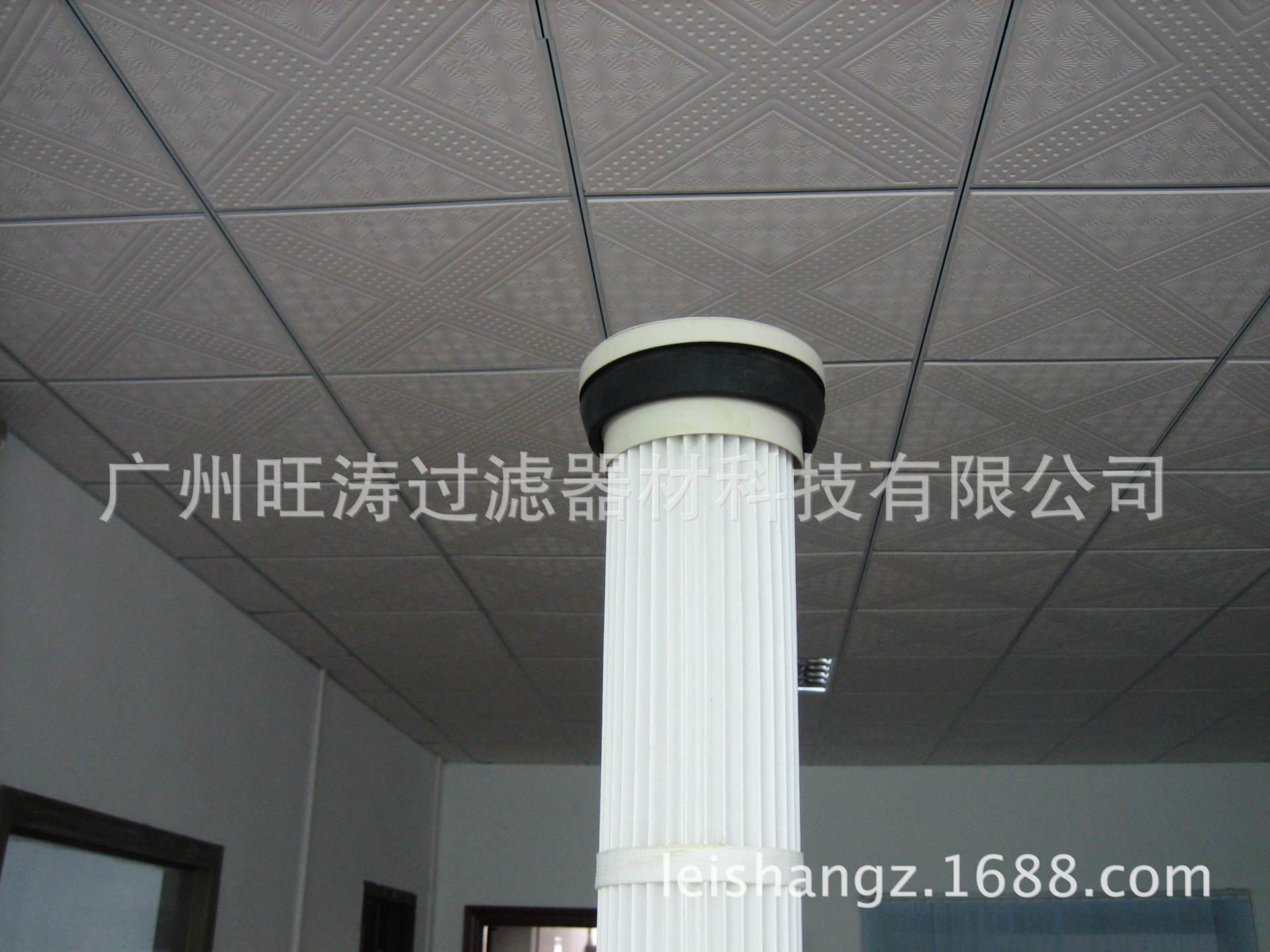 广西碳酸钙滑石粉厂专用除尘滤筒