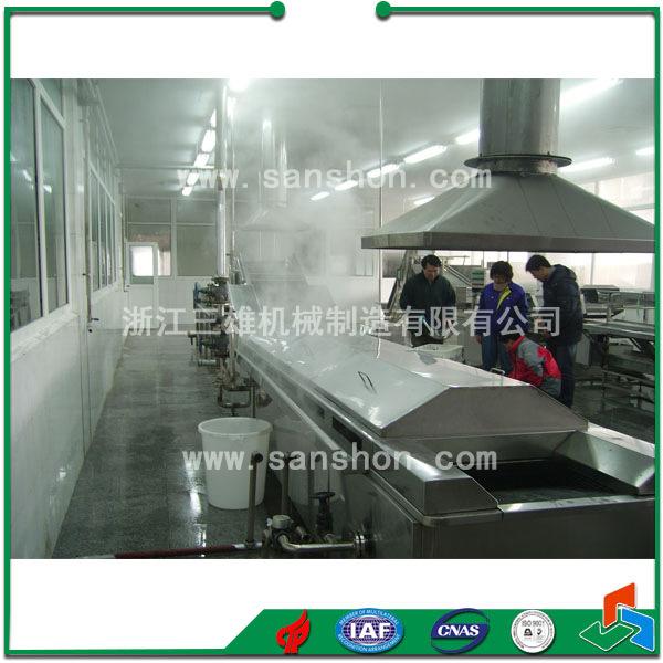 供应速冻、脱水、冻干前处理 链式漂烫机 杀菌机 预煮机