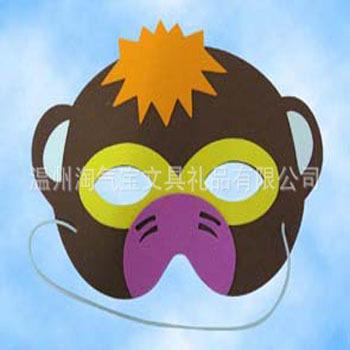 万圣节面具 化妆舞会 万圣节 eva卡通面具 批发厂家面具 阿里巴巴