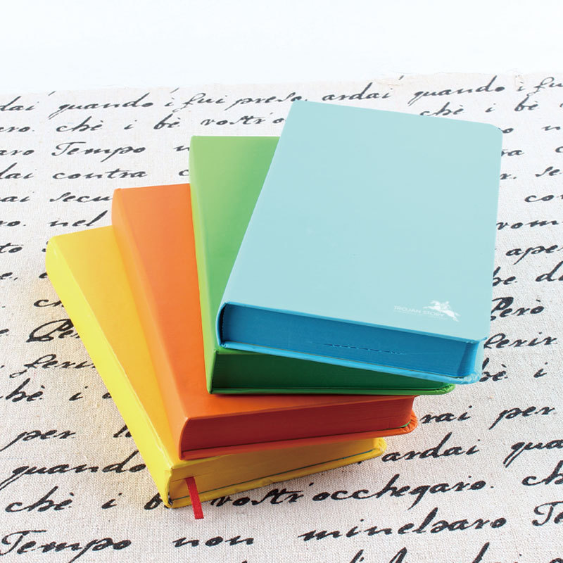 博纳5330D厂家直销韩版糖果彩色精装硬抄记事本可爱学生日记本