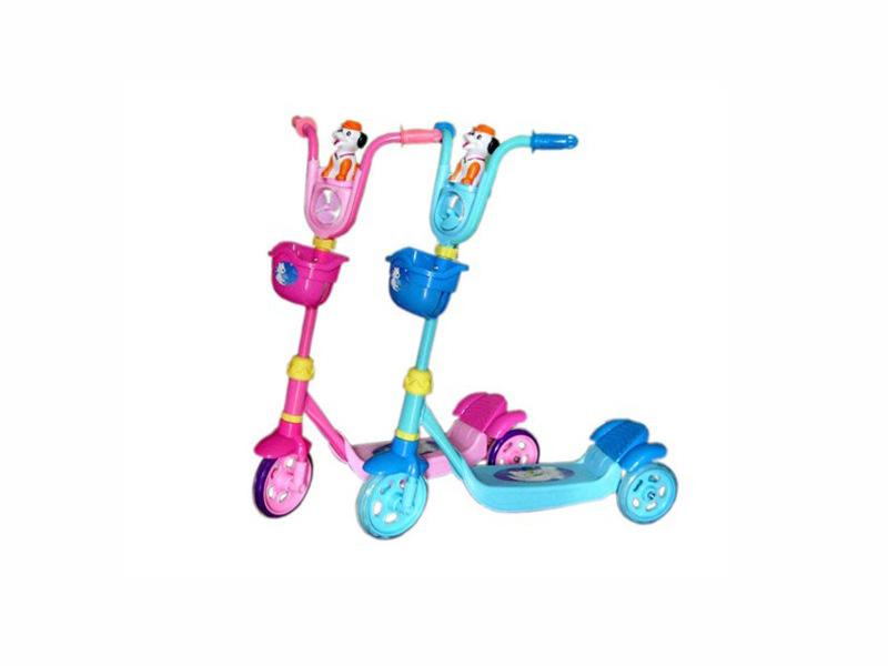 供应热销儿童滑板车红.蓝2色 儿童运动户外休闲滑板车 H034