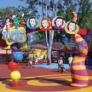 儿童乐园/幼儿园卡通造型大门入口订做,门头造型造景装饰设计图片