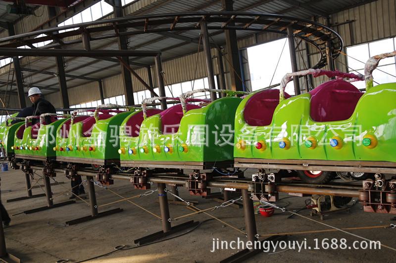 儿童游乐设备 金骋游乐设备供应大型户外青虫滑车龙儿童游乐设备 阿