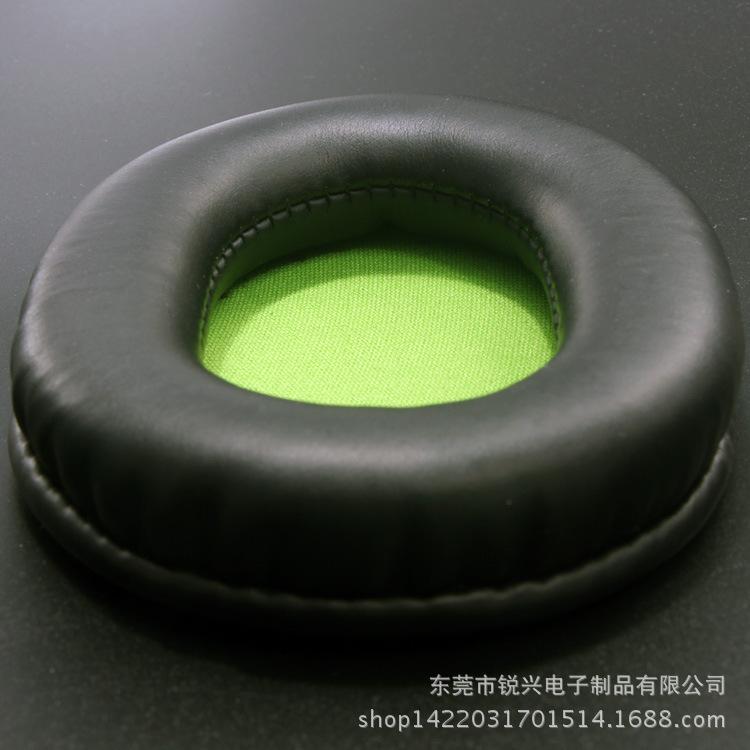 厂家***头部防护耳机耳罩低价批发蛋白质热压成型高周波耳套护套