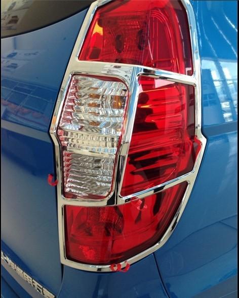 新款五菱宏光S改装专用装饰尾灯罩框饰条车尾灯框 汽车灯罩框包邮 -高清图片