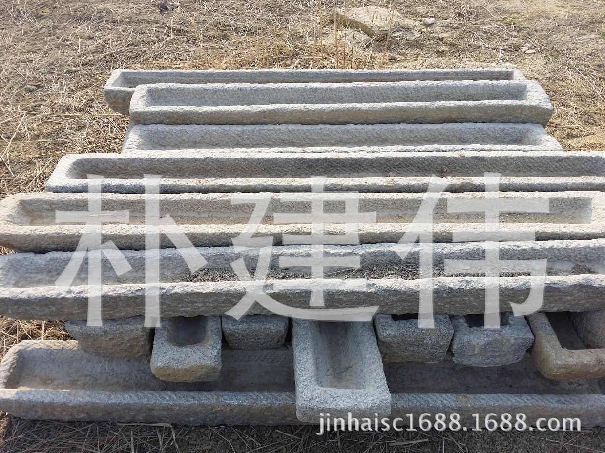 大量供应花岗岩旧石槽 老石槽 旧牛槽 旧石槽 青石牛槽 青石石槽