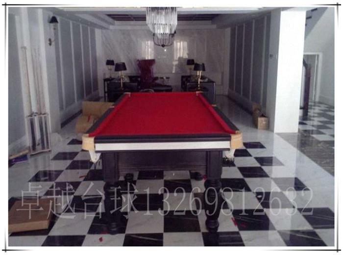 美式黑8台球桌 台球桌批发 北京专用生产销售