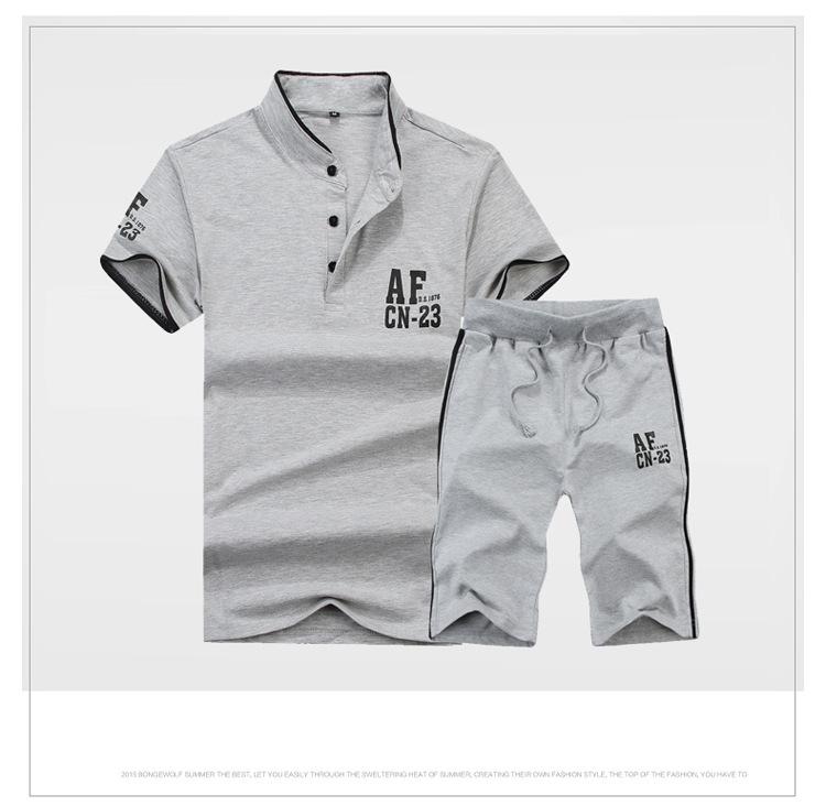 运动套装 男士套装 韩版运动套装 短袖夏季 厂家直批招代理 阿里巴巴