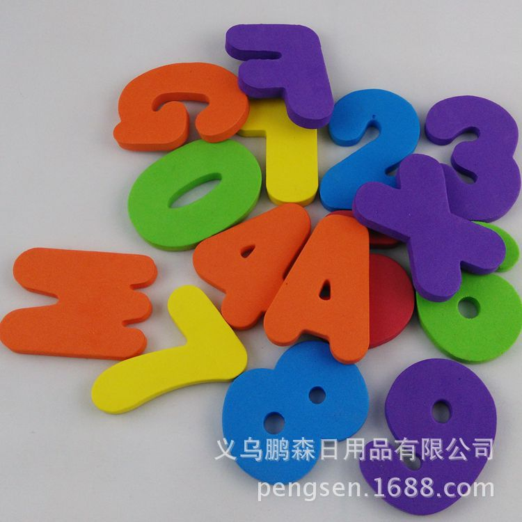 戏水玩具-eva3d卡通立体贴画手工制作儿童益智环保贴