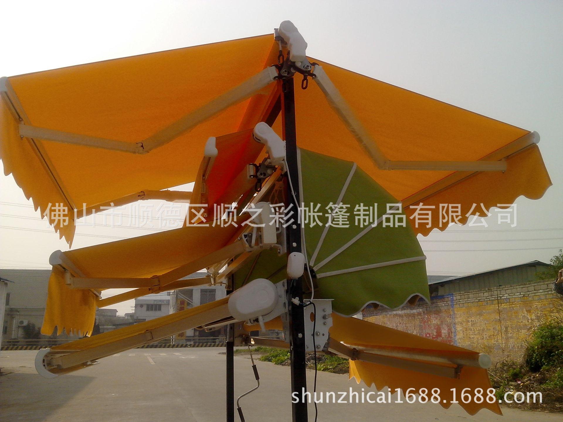配件 长期供应雨棚遮阳棚 伸缩式折叠雨蓬 批发遮阳蓬 阿里巴巴