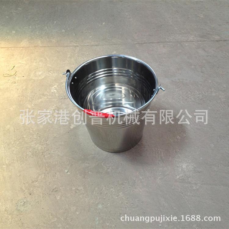 【厂家直销】6L / 6升 家用型 实惠 不锈钢奶桶 水桶 小型提桶