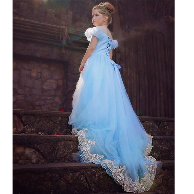 2018 Long Princess Prom Dress 2015 Cinderella Dress Costumes Cosplay ...