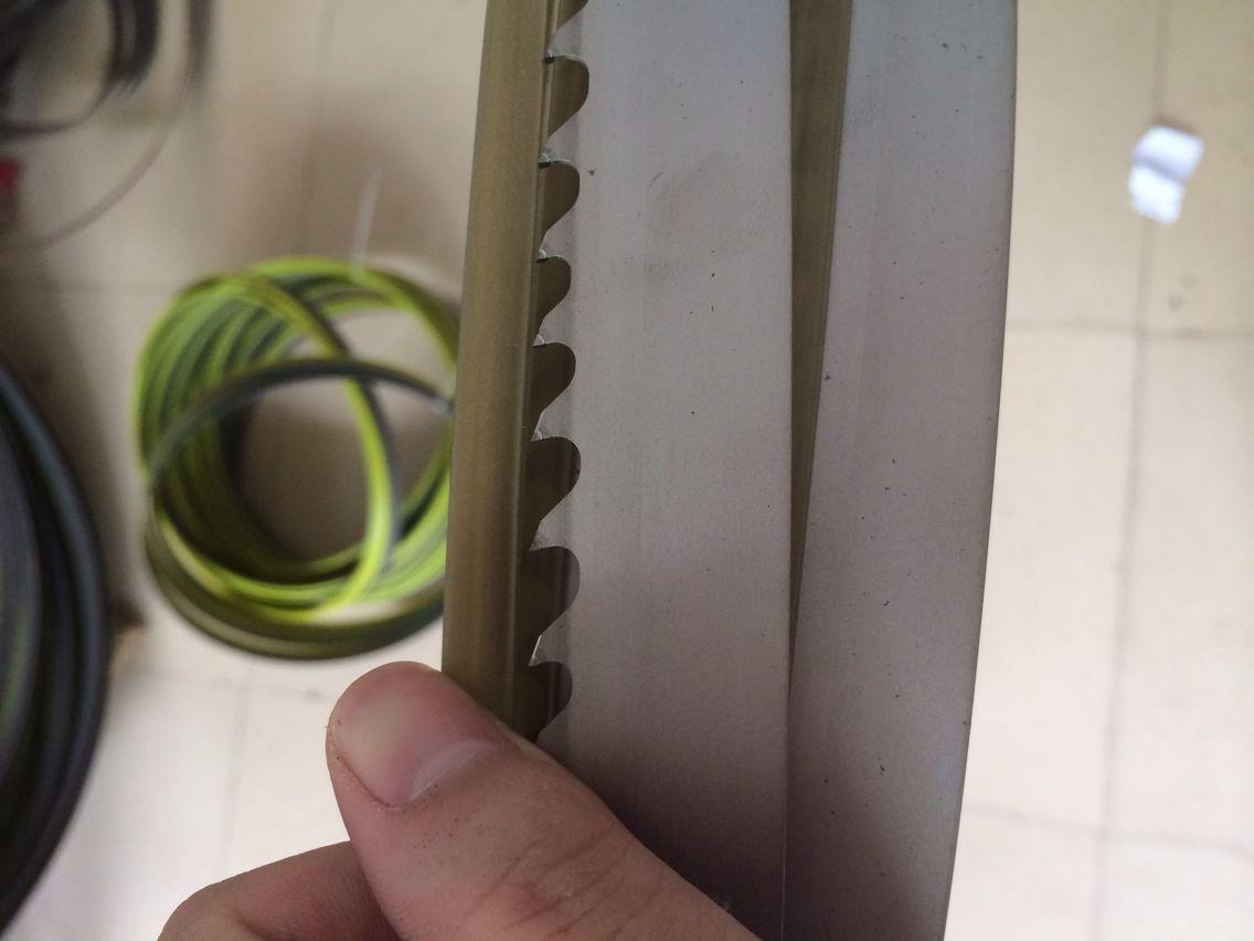 出售零售或批发***原装德国进口硬质合金带锯条4585*27*0.