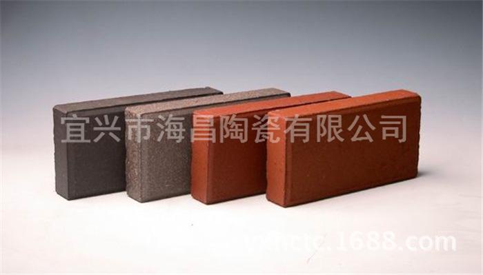厂家直销陶土烧结砖,红色烧结广场砖图片_6