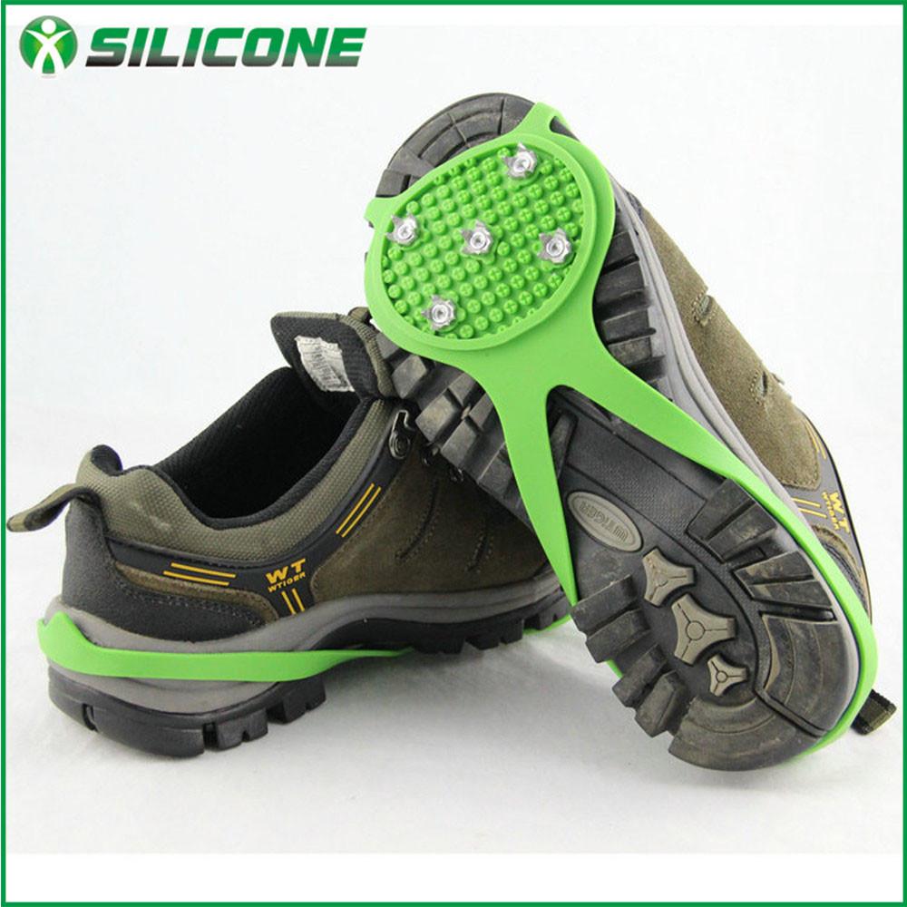 现货供应 冰雪地户外防滑、防摔、防滑硅胶鞋套 多色可选