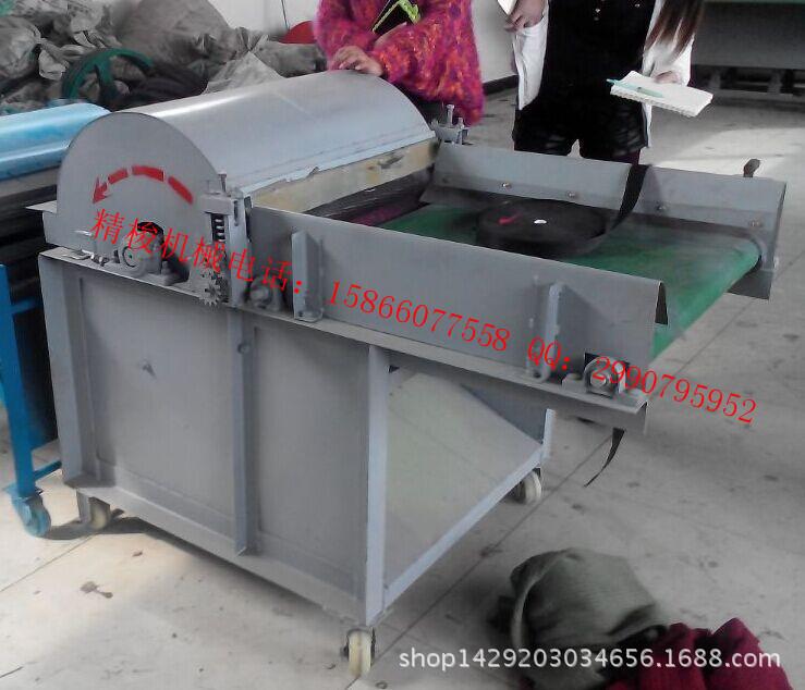 羊毛开松机生产厂家 全自动化纤开松机价格 除尘梳理机标价