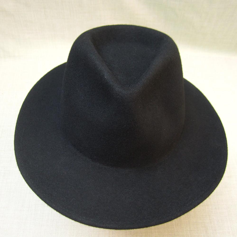 直销优质时尚毛毡帽 可来图定做